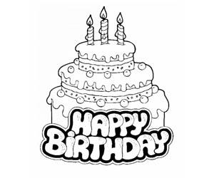 Birthday image birthday cakes color birthday image colorings image birthday cake sciox Choice Image