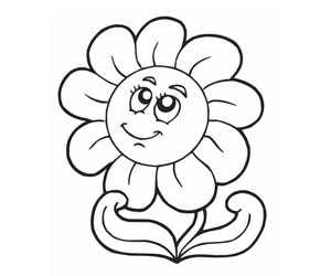 daisy flower drawings - Drawing Pictures For Kids