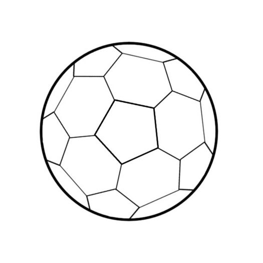Line Drawing Football : Colorings drawing football
